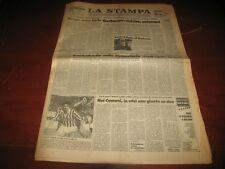 LA STAMPA 5/11/1987 - Gorbaviov: Sinistre Uniamoci. Nikolai Bucharin. Reagan.