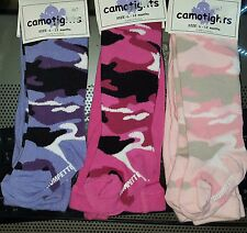 NWT Baby Girls Lot of 3 Pairs Tights Trumpette Sz: 6-12 Months Thick Fabric