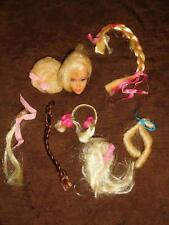 Barbie: VINTAGE Blonde HAIR FAIR Head w/HAIRPIECES