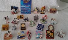 Disney Trading Pins-Lot of 25-No Duplicates, Some w/hidden Mickey Plus more