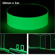 1mx10mm Luminous Tape Self-adhesive Glowing In The Dark Safety Stage Home Decor