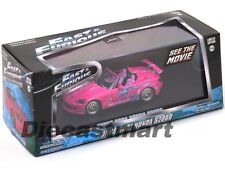 SUKI'S 2 FAST AND 2 FURIOUS 2001 HONDA S2000 PINK 1:43 BY GREENLIGHT 86225