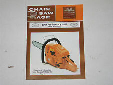 CHAINSAW HISTORY CHAIN SAW AGE MAGAZINE 30th ANNIVERSARY MINT JULY 1982