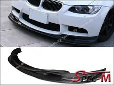 3D LOOK CARBON FIBER FRONT LIP SPOILER FOR 2008-2013 BMW E90 E92 E93 M3