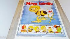 MAYA L'ABEILLE  !  affiche cinema animation , bd dessin 1979