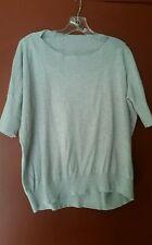 Cabi  Lounge Sweater Oversized Boxy Silk Blend, Gray,  # 200, XS
