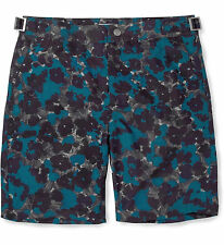 Brand New With Tags Paul Smith Purple Flower Pattern Swim Shorts Trunks Large 34