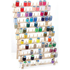 120 SPOOLS & MINI CONES THREAD STAND RACK w/ LEGS FOR EMBROIDERY SEWING QUILTING