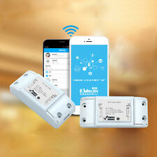 Best  Sonoff Smart Home WiFi Wireless Switch Module for Apple Android APP LU