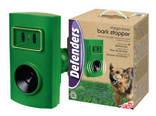 STV649 Mega Sonic Dog Repeller Trainer Deter Woof Ultrasonic & Adaptor STV612