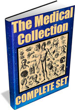 MEDICAL COLLECTION ~ Vintage books on DVD - Nursing, Doctors, Medicine, Health