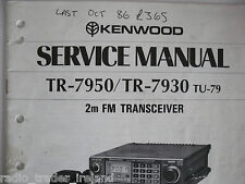 KENWOOD TR-7950/7930 (SERVICE MANUAL ONLY)...............RADIO_TRADER_IRELAND.