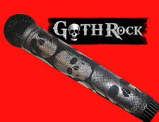 SPARKLE MICROPHONE COVER (GOTH ROCK)  BLING MICROPHONE COVER FOR CORDLESS MIC