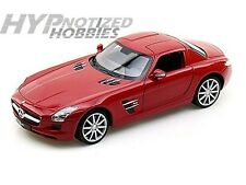 WELLY 1:24 MERCEDES BENZ SLS AMG DIE CAST RED 24025
