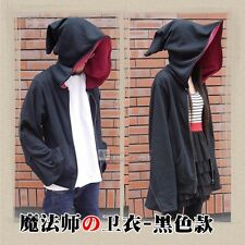 Magic Witch Wizard Cosplay Costumes Casual Jacket Hooded Sweatshirt Zipper Coat