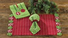 YoYo Holiday Christmas Placemat