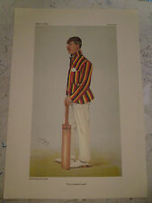VANITY FAIR PRINT CRICKET IN HIS FATHER'S STEPS LORD DALMENY