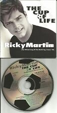 RICKY MARTIN The Cup of Life / Maria LIMITED CARD SLEEVE USA CD single 1998