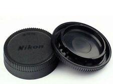 New Body Front + Rear Lens Cap Cover For Nikon AF AF-S Lens DSLR SLR Camera