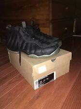Nike Air Foamposite One Black-Medium Grey Stealth 2012 SZ 11 Great Condition