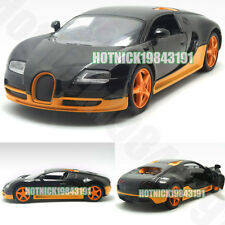 Bugatti Veyron Limited Edition 1:24 Diecast Alloy Model Car Orange&Black