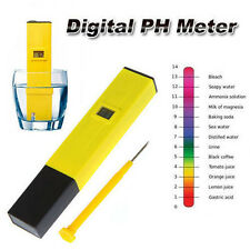 Digital LCD Pocket Pen type PH meter for Water Purity Aquarium measurement