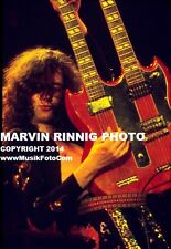 "LED ZEPPELIN PHOTO -JIMMY PAGE-1972 8x11""RARE SALE JOHN BONHAM ROBERT PLANT"