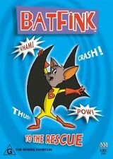 Batfink - To The Rescue [DVD], LIKE NEW, Region 4, Next Day Post..5644