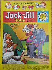 VINTAGE JACK & JILL COMIC 21 October 1978 Birthday Gift The Wombles Tiger Tim