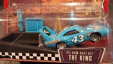 DISNEY PIXAR CARS PIT ROW RACE OFF THE KING LAUNCHER WOC SAVE 5% WORLDWIDE FAST