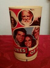 "Vintage The Dukes of Hazzard 5"" plastic cup 1981"