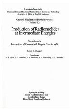 Interactions of Protons with Targets from Kr to Te (Landolt-Barnstein: Numerical
