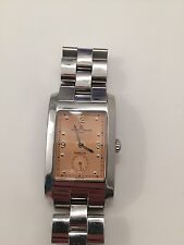 BAUME & MERCIER Men's Hampton TIFFANY & CO Swiss Wrist Watch Copper Face
