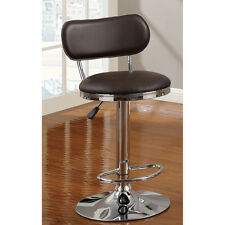 "Barbz Brown Swivel Elevate Barstool 28 ""- 37""  high"