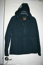 FREE CITY Life Nature Love Midnight Sail Jacket Navy Hooded Unisex M New NWT