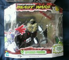 Transformers BEAST WARS 10TH ANNIVERSARY OPTIMUS PRIMAL MIB 2009