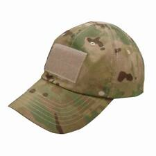 CONDOR Special Forces Tactical Ball Cap Hat Velcro tc Genuine Crye Multicam Camo