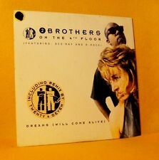 cardsleeve single CD 2 BROTHERS ON THE 4TH FLOOR Dreams 2TR 1994 eurodance