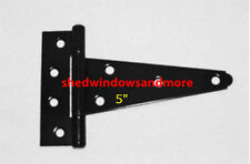 "5"" Heavy Duty Shed Hinges (set of 24) Shed Barn Door Playhouse Treehouse Windows"