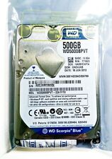 "NEW Western Digital 2.5"" 500GB WD5000BPVT 5400RPM 8MB SATA Hard Drive Laptop Mac"