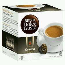 Dolce Gusto Crema D´Oro Coffee Pods 16 in box 16 servings UK stock fast delivery