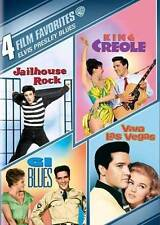 Elvis Presley Blues: 4 Film Favorites New DVD