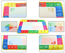 Cloth Water Drawing Painting Writing Mat Board Magic Pen Doodle Toy Gift 29X19cm