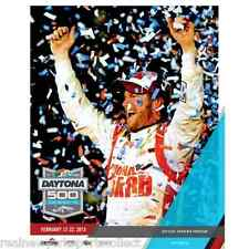 2015 DAYTONA 500 OFFICIAL PROGRAM 2/22 DALE EARNHARDT JR. GORDON FINAL LOGANO