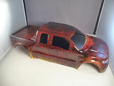 NEW FORD RAPTOR BODY SHELL FOR TRAXXAS E-MAXX(3903/3905/3908) - RED TIGER CAMO