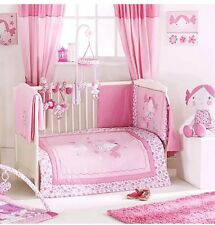 RED KITE PRINCESS POLLYANNA PINK COSI COT 5 PIECE COT/COTBED BEDDING SET/BALE