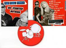 "THE TING TINGS ""We Started Nothing"" (CD) 2008"