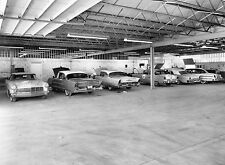 Lincoln 1957 Dealer Service Department Bays full 8 x 10 Photograph