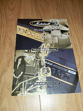 1996 Marshall New Products Brochure