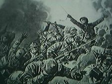 ephemera ww1 picture gas attack on the aisne front